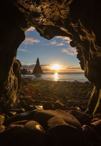 duncansby head sea cave